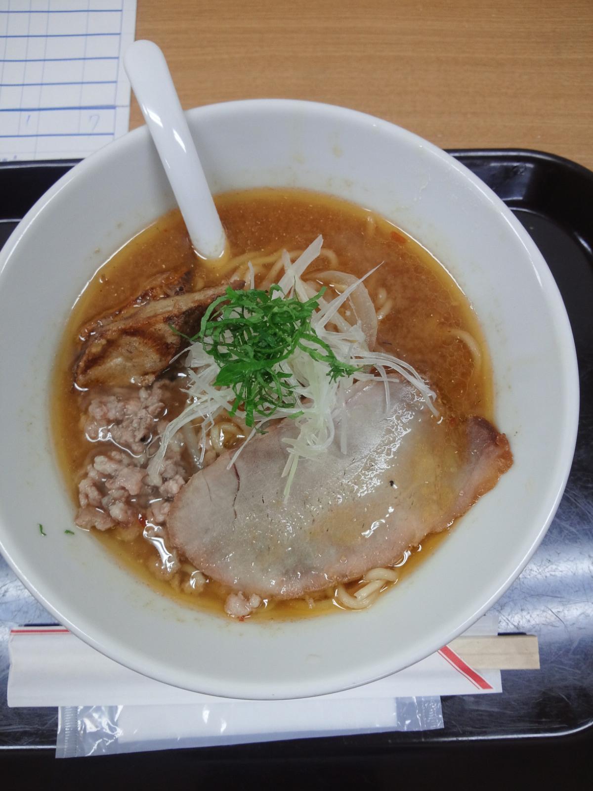 札幌煮干し味噌ラーメン