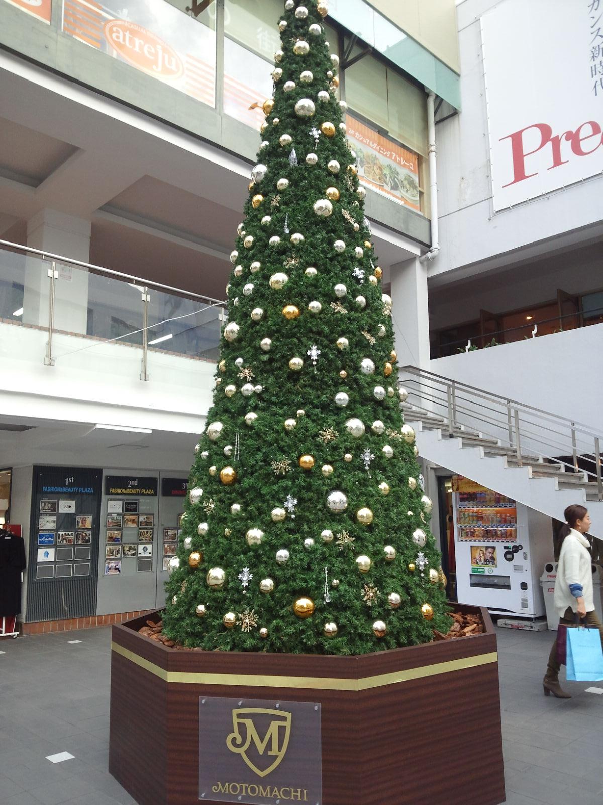 元町のクリスマスツリー