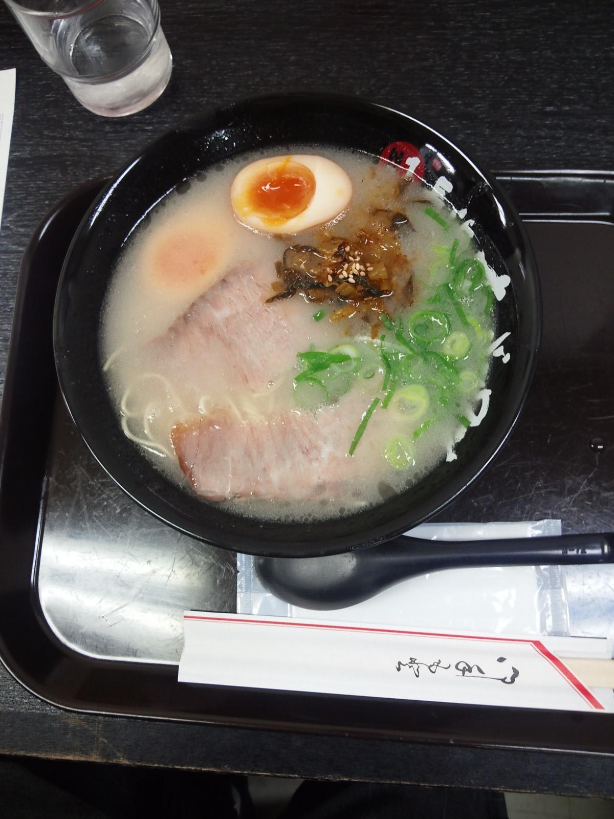 長浜ナンバーワン 辛子高菜ラーメン