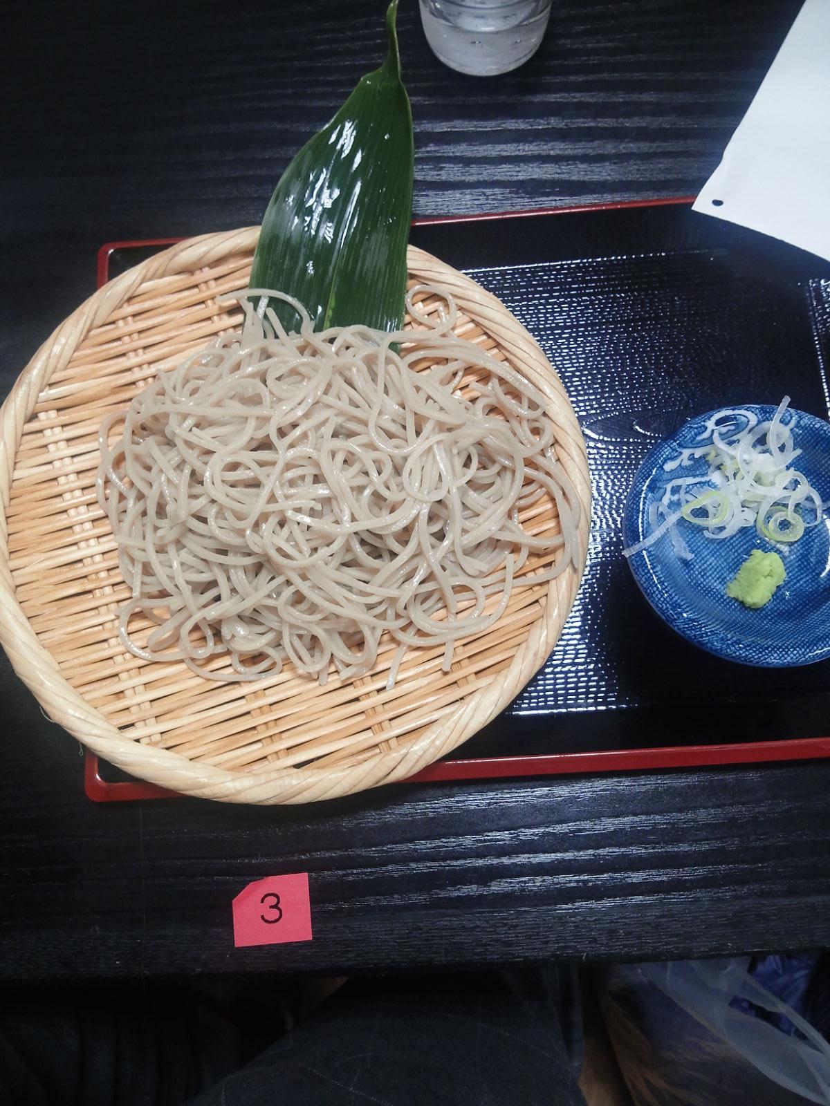 庄司屋の蕎麦