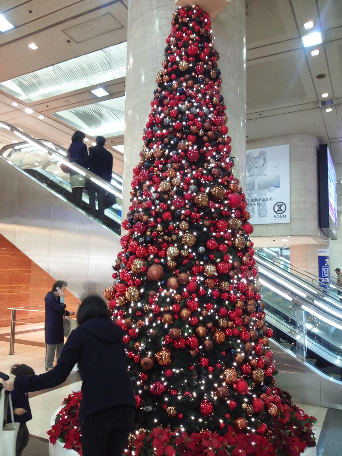 横浜そごうクリスマスツリー