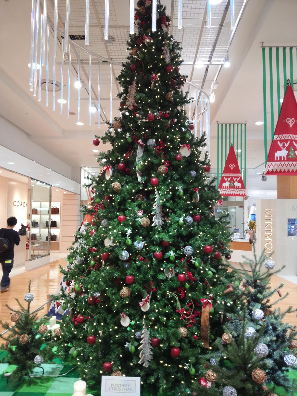 京急百貨店クリスマスツリー