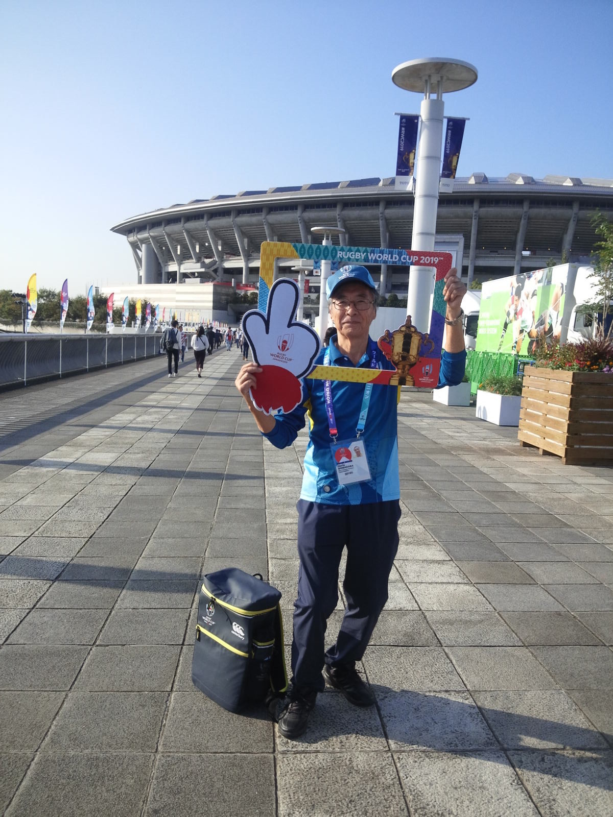 ラグビーワールドカップのボランティア